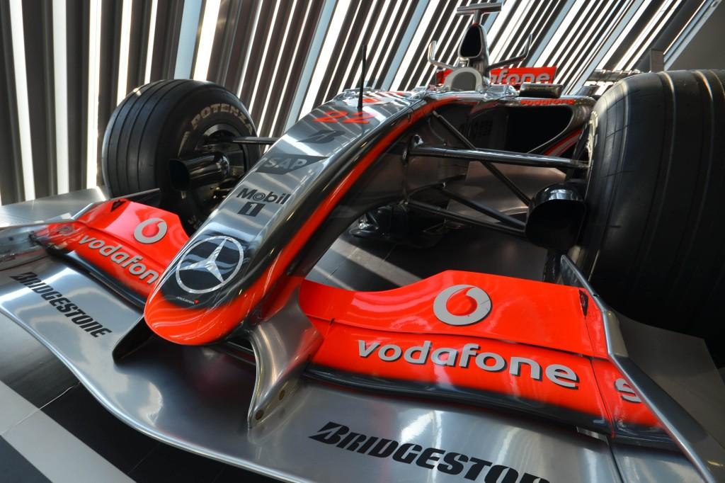 Lewis Hamilton's Maclaren F1
