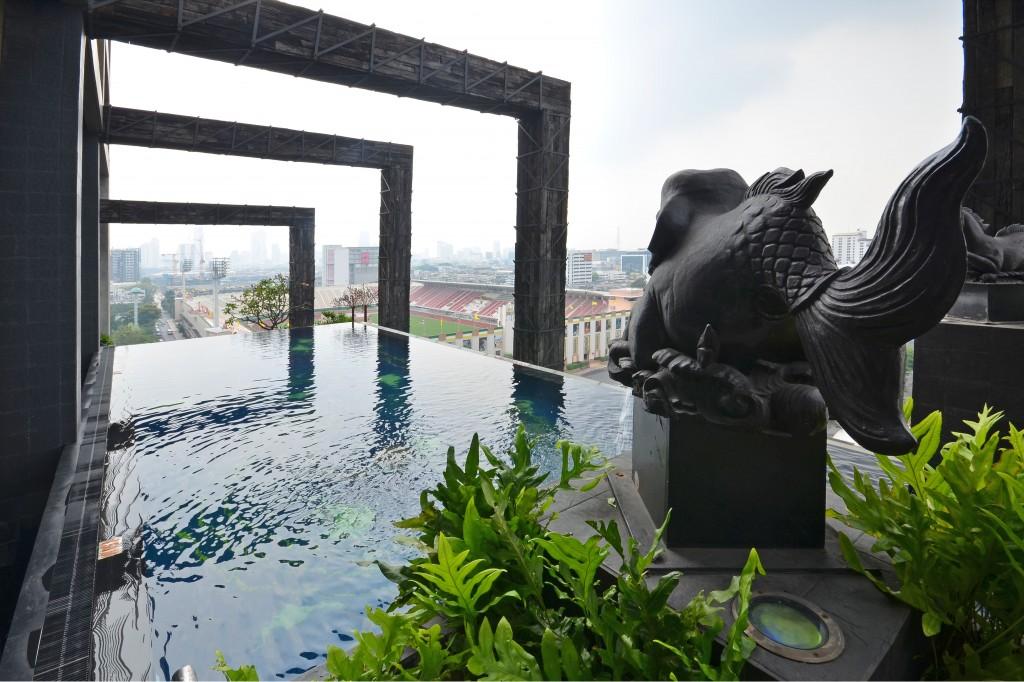 Siam@Siam infinity pool
