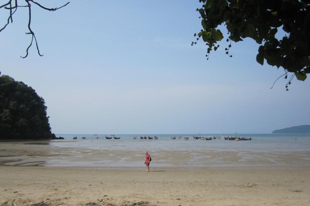 Longtails at Nopparat beach