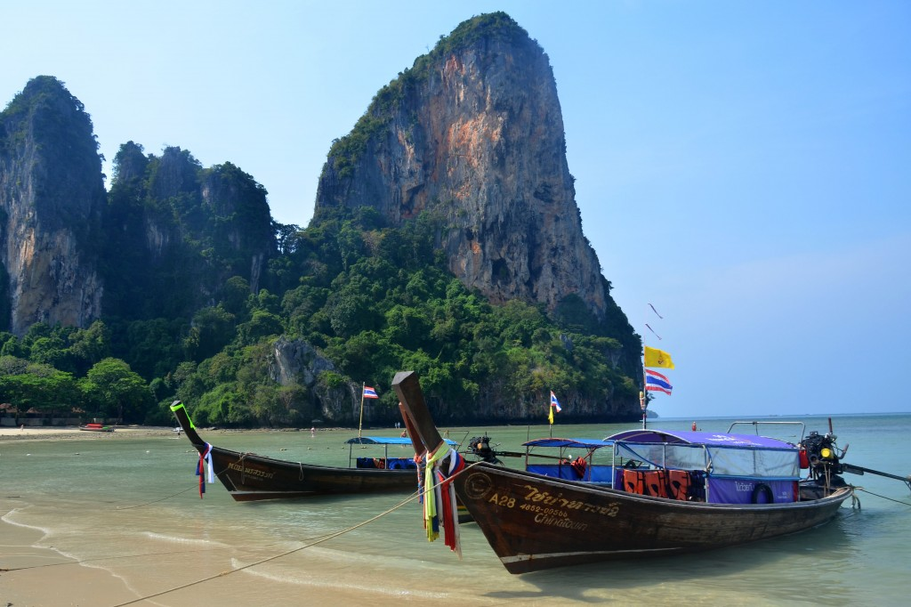 Longtails at Railay West