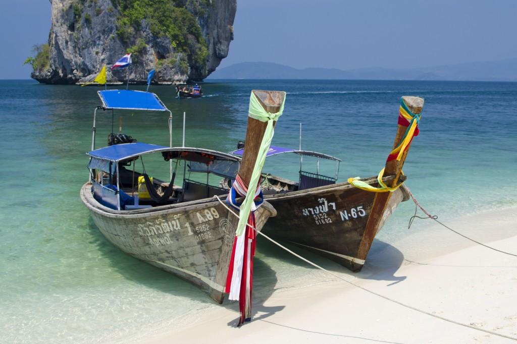 Longtails, Poda Island, Krabi