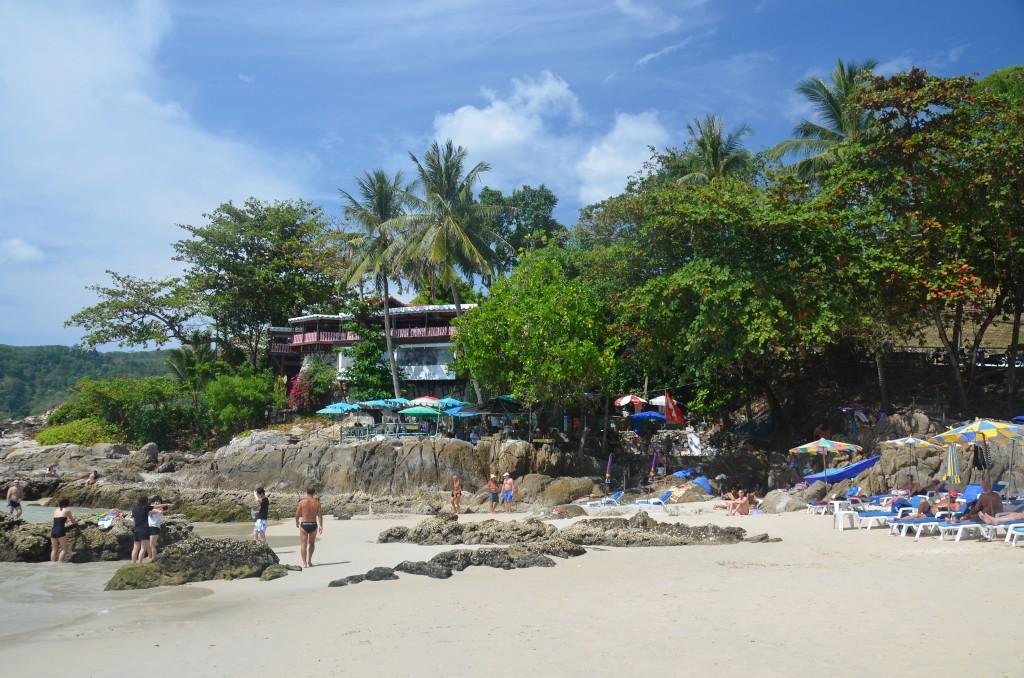 North end of Patong Beach, Phuket