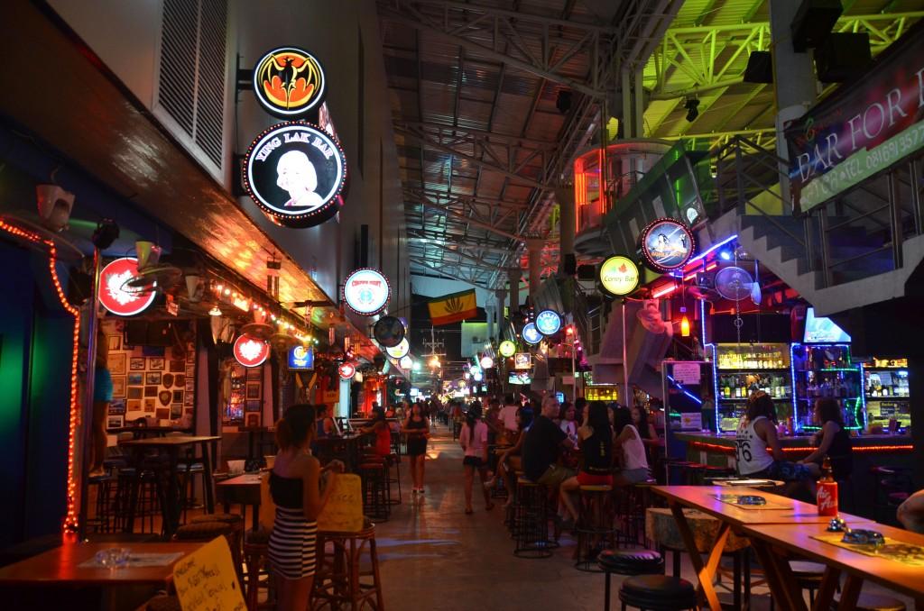 Bars off Bang La Road, Patong Beach, Phuket