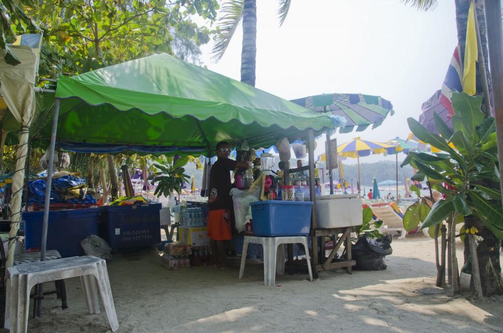 Patong beach bar