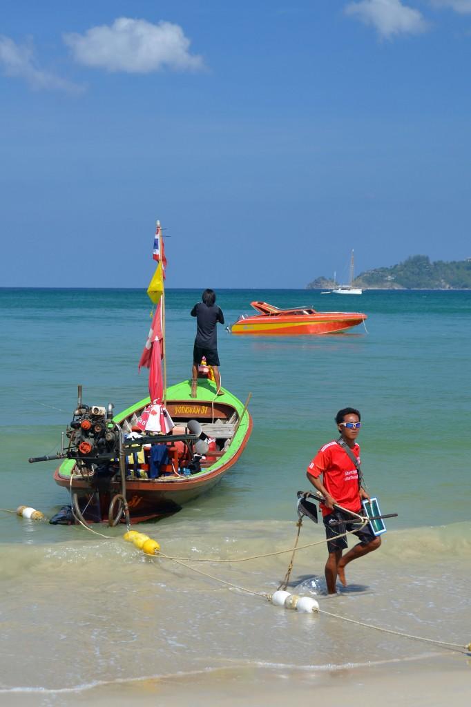 Longtail on Patong Beach, Phuket