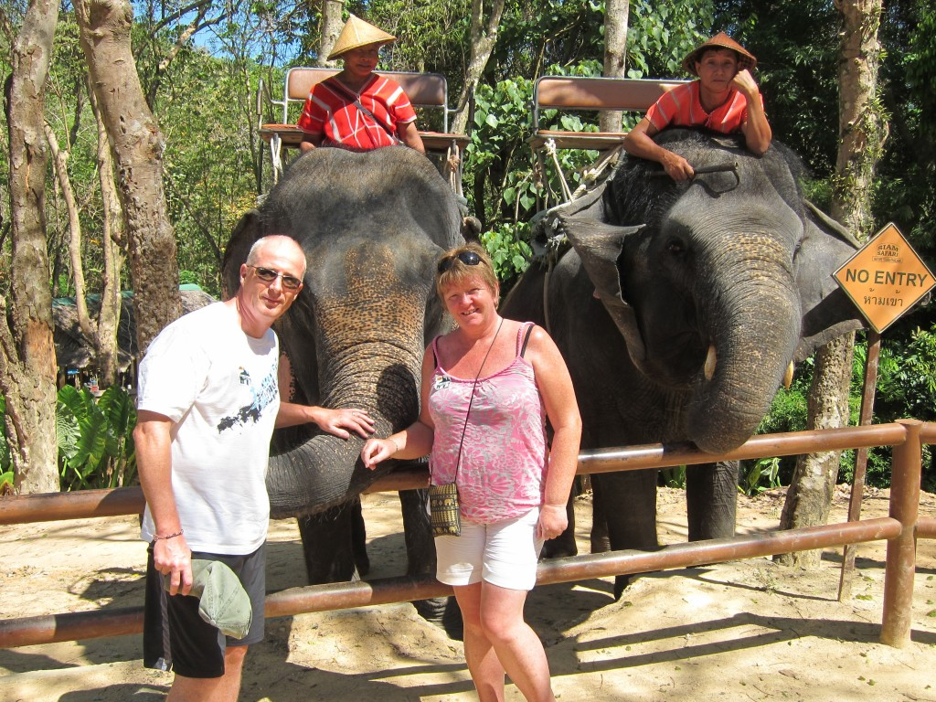 Siam Safari elephant ride