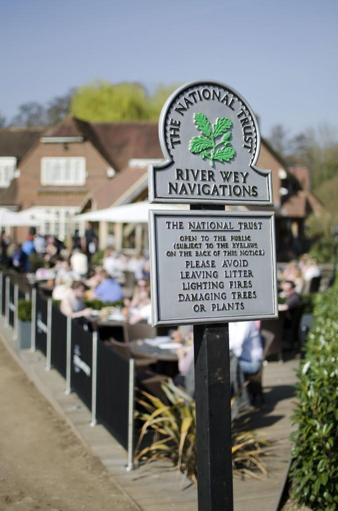 Wey Navigation, Pyrford lock