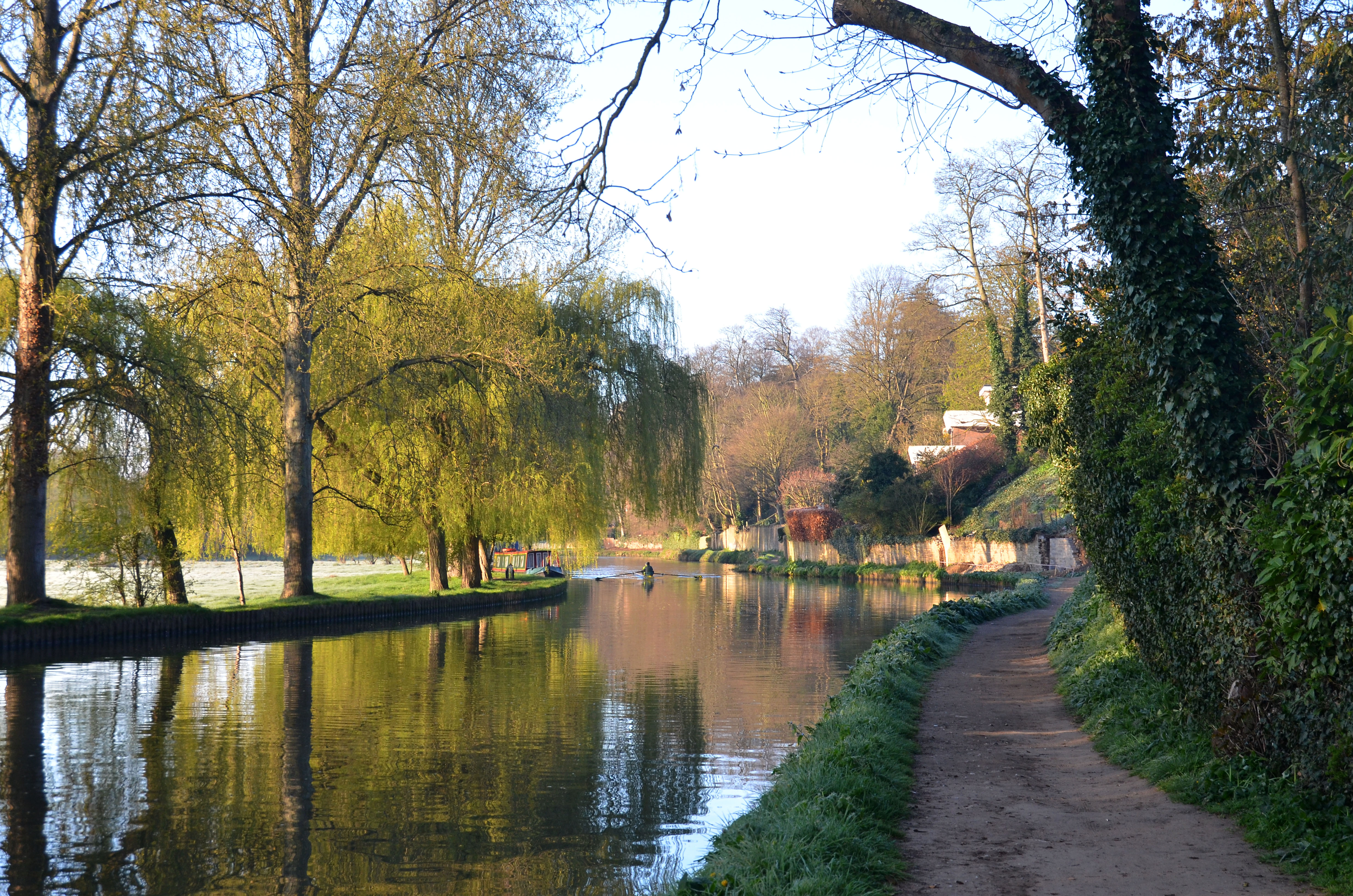 Wey Navigation, Millmead, Guildford