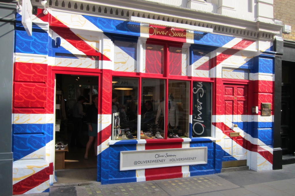 Patriotic Covent Garden shop