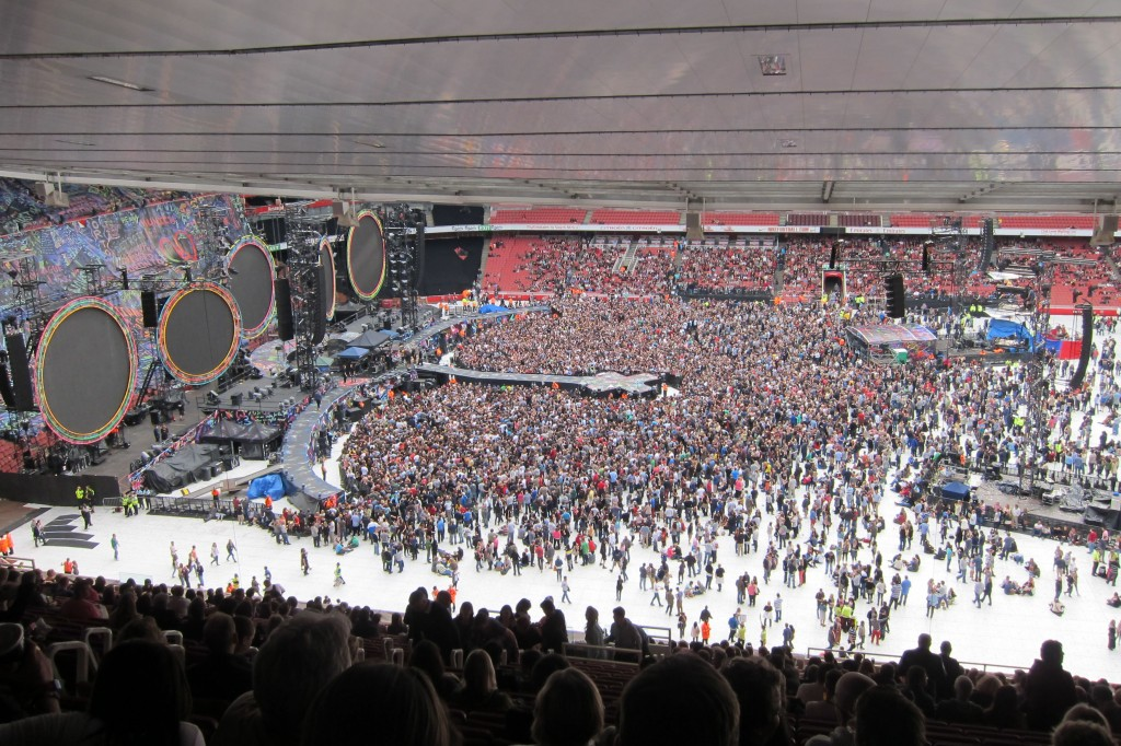 Coldplay at the Emirates