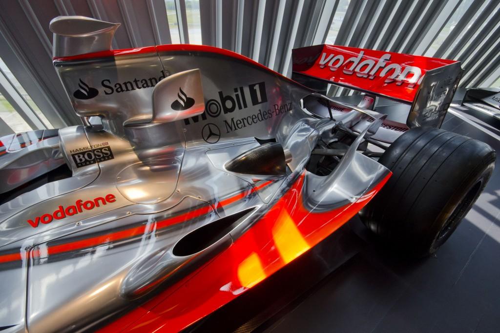 F1 McLaren at Mercedes World