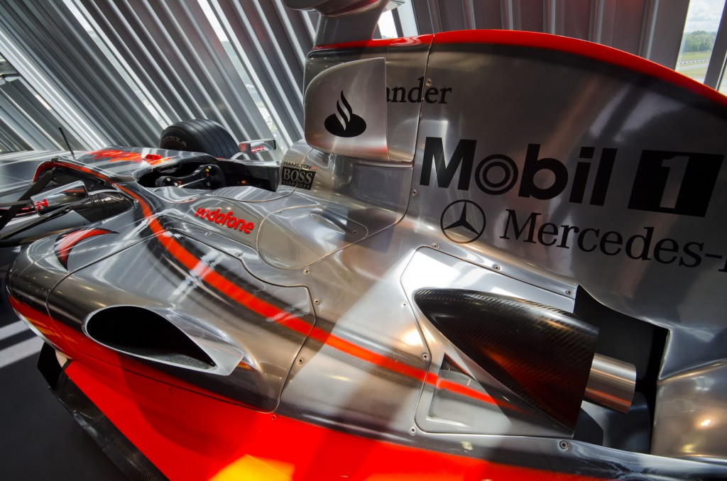 F1 McLaren at Mercedes World