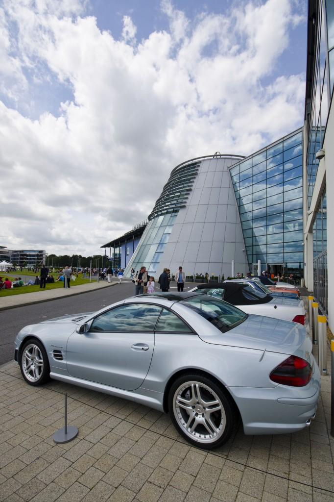 Mercedes World at Brooklands