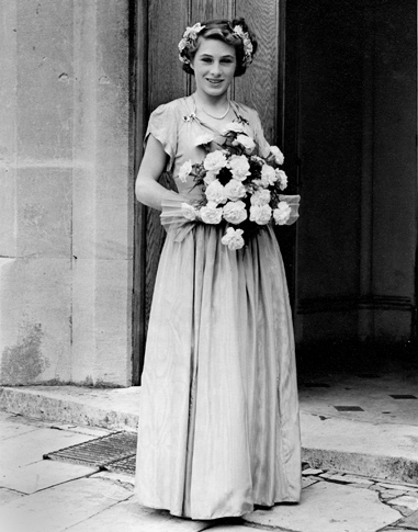 Pat_bridesmaid 1950